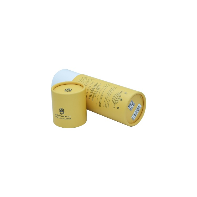 Factory Custom Paper Cylinder Cardboard Perfume Box Paper Tube for Fragrance Packaging